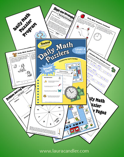 Daily Math Puzzlers Level A