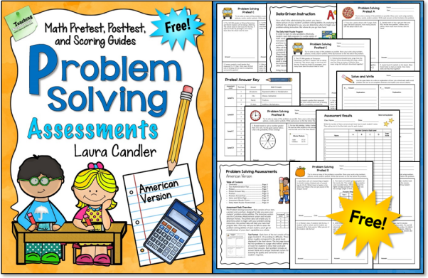 Problem Solving Assessment Freebie