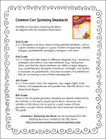 Common Core Standards for Geometry Basics