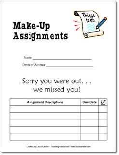 Make-up Assignments Form