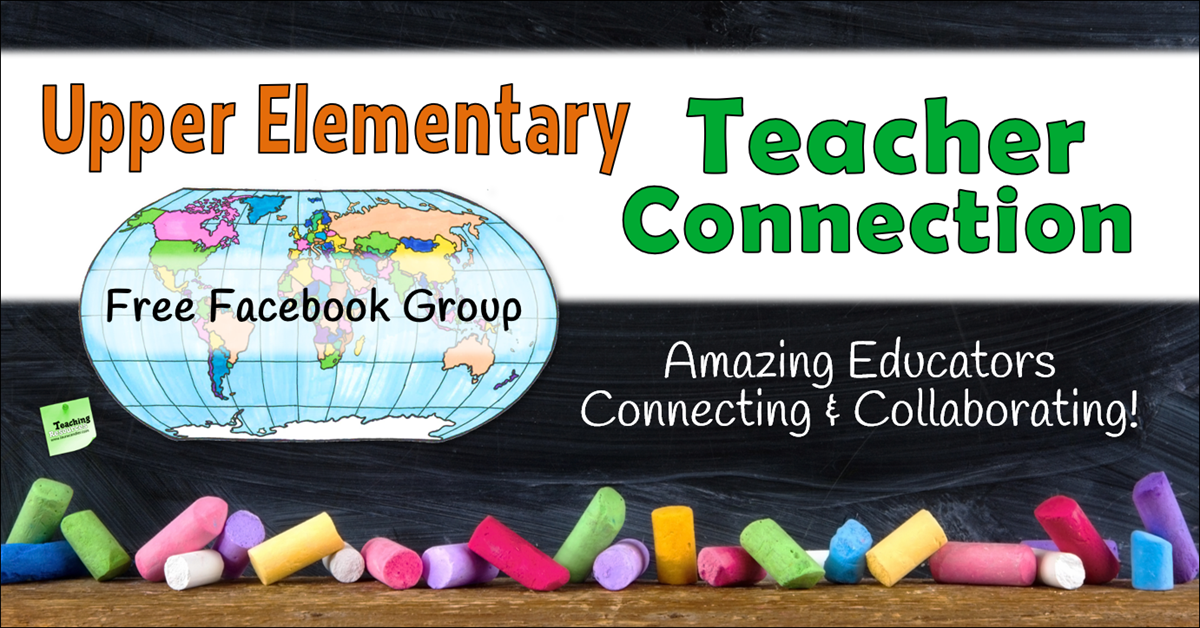 Awesome Facebook Group for Elementary Educators!
