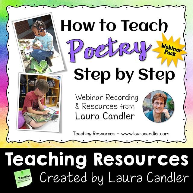 How to Teach Poetry Webinar Pack