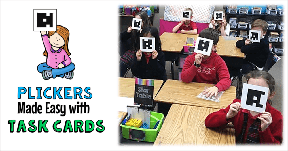 Plickers Made Easy with Task Cards