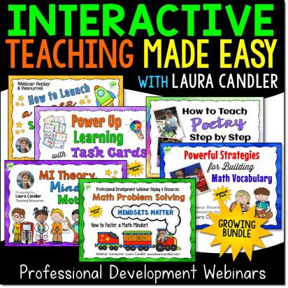 Interactive Teaching Made Easy Webinars Growing Bundle