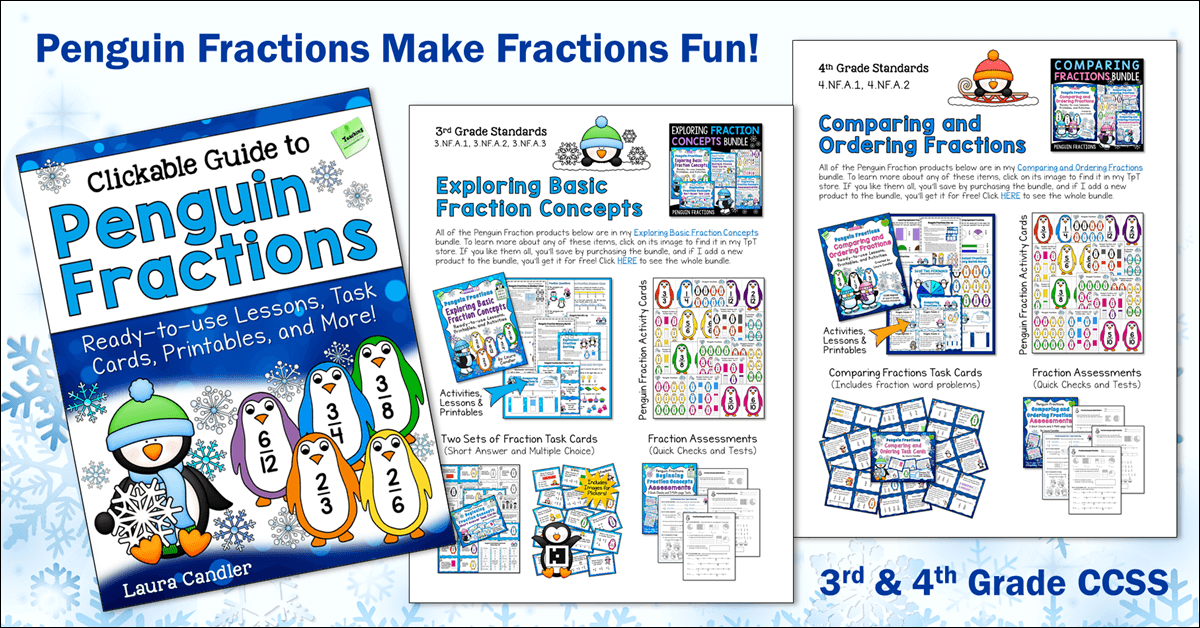 Free Guide to Penguin Fractions