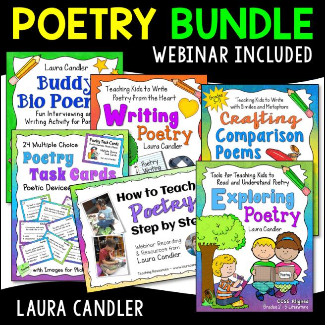 Poetry Webinar Unit Bundle