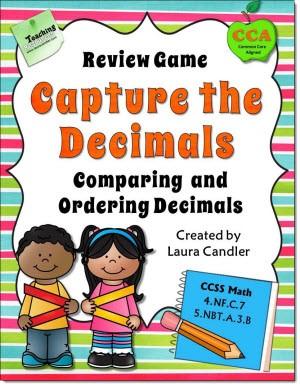 Capture the Decimals Game