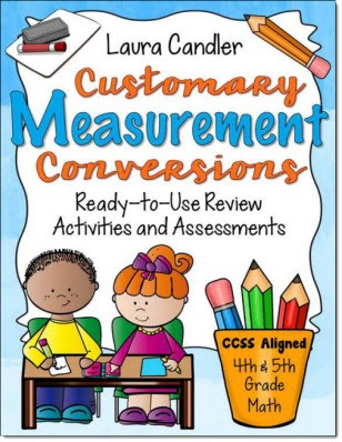 Customary Measurement Conversions Power Pack