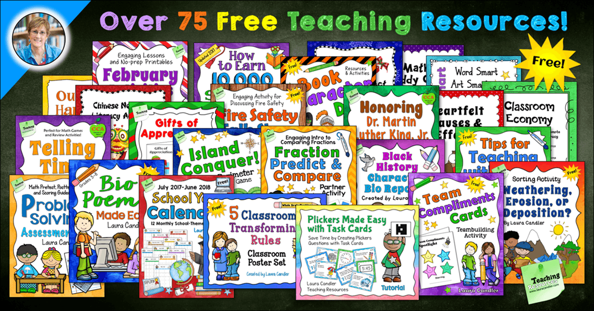 Laura Candler's Free Resources