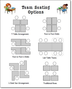 Team Seating Options