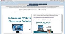 Web Tools LiveBinder