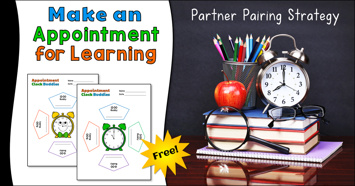 Appointment Clock Buddies: Make an Appointment for Learning!
