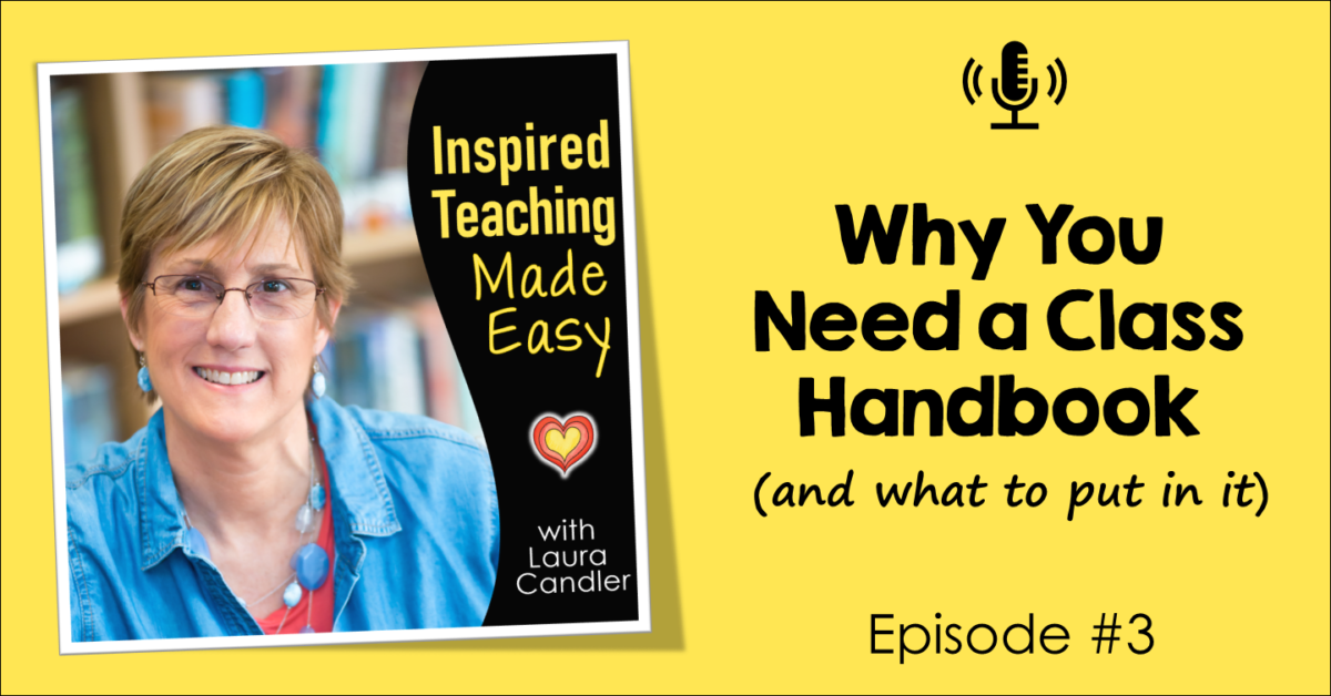 Episode 3: Why You Need a Class Handbook (and what to put in it)